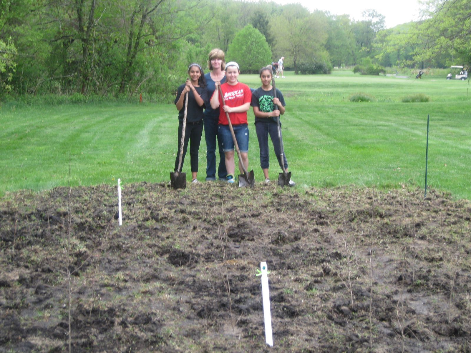 GS Troop 259 - Tree Planting