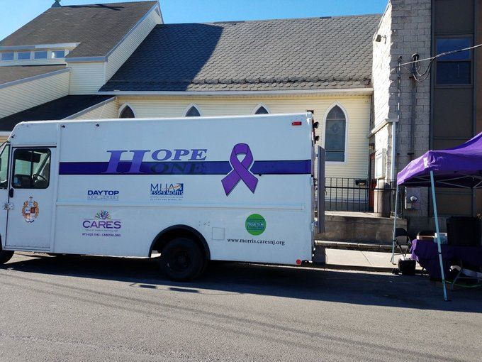 picture of hope one Morris County Sheriff Van