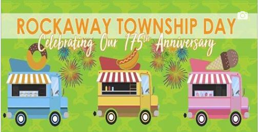 A banner advertising Rockaway Township Day.