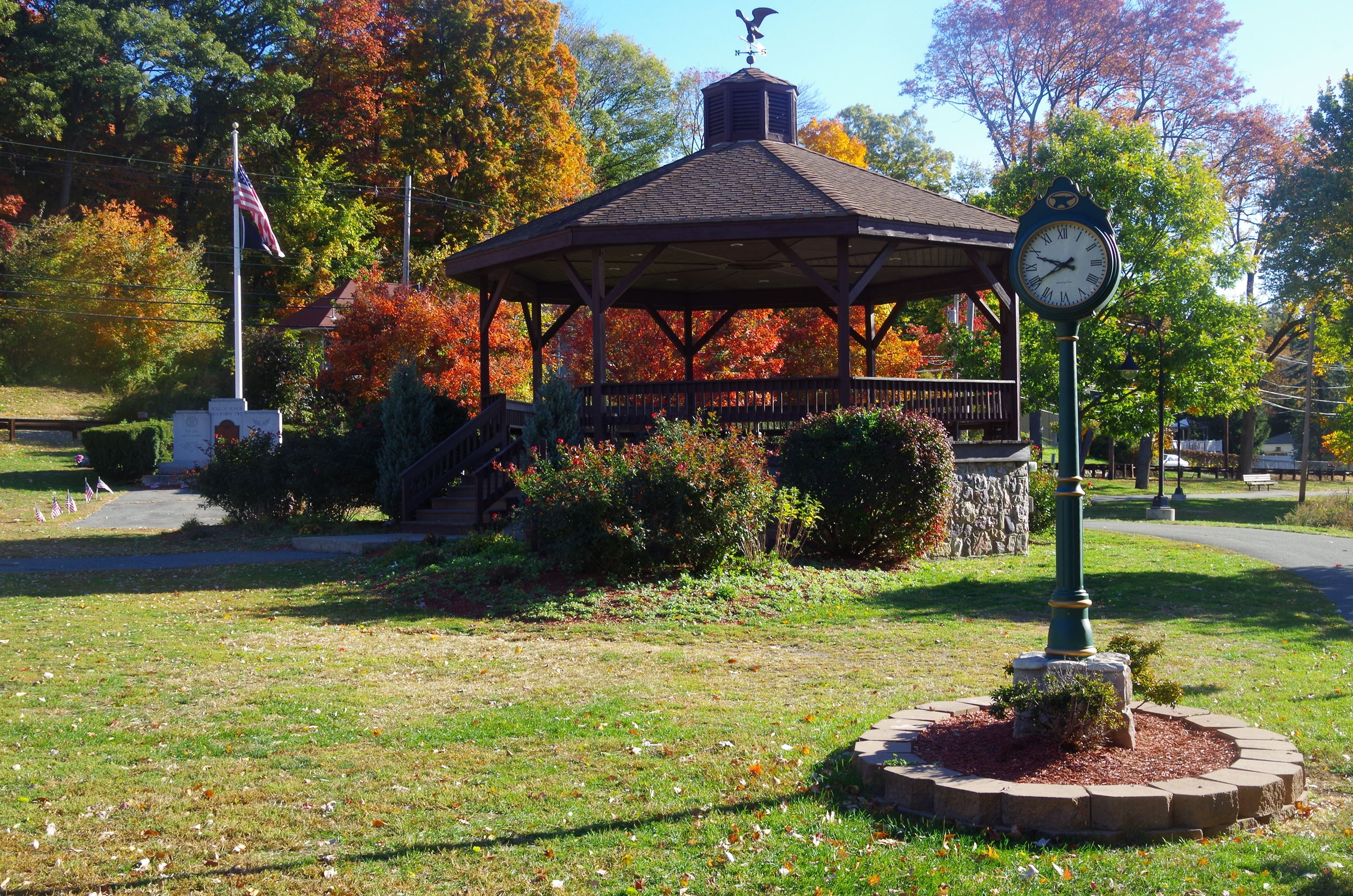 Parks Lake Gazebo Slideshow #1