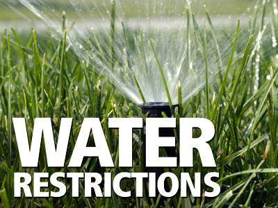 Water Restrictions Picture